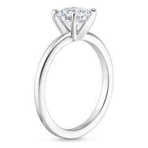 14KG - White Gold Wedding Ring Set $550